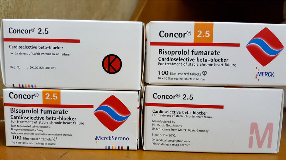 Concor - one of the brand of beta blocker